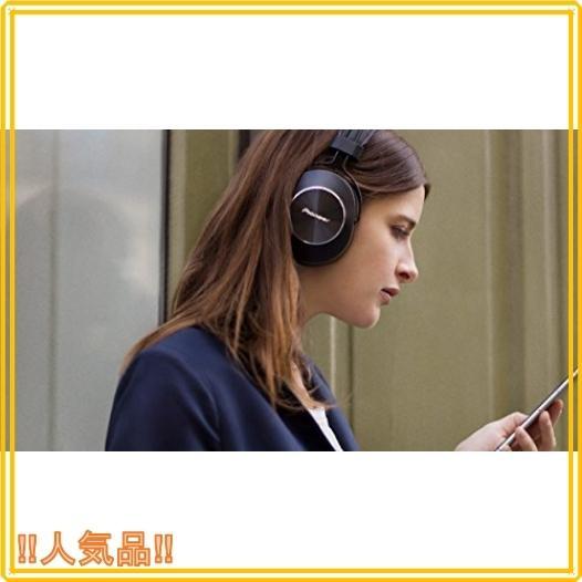 パイオニア SE-MS7BT Bluetoothヘッドホン 密閉型/ハイレゾ対応(コード接続時) ブラック SE-MS7BT-K|roomy29|02