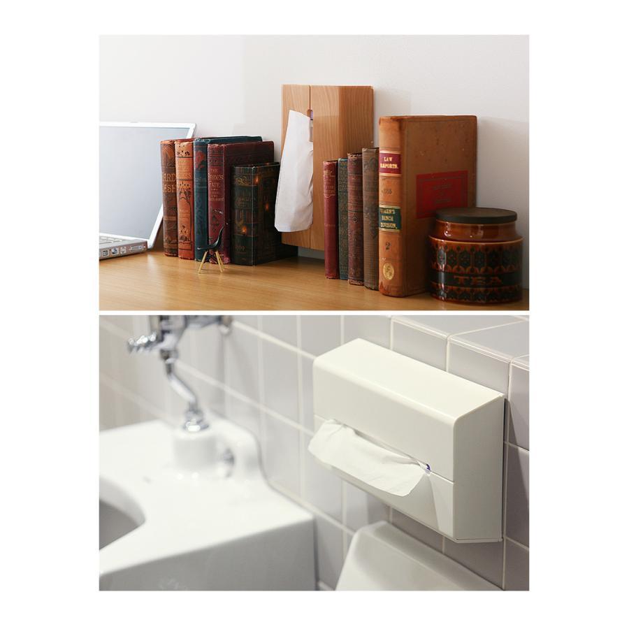 ティッシュケース 壁掛け おしゃれ 北欧 ティッシュカバー ティッシュボックス 収納 グレー ブラック ケース 壁 イデアコ トイレ キッチン [ ideaco WALL ]|インテリアショップ roomy|13