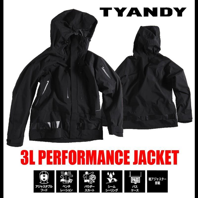 最新な スノーボード ウェア TYANDY ジャケット 3L PERFORMANCE JACKET, grant on f54cedaf