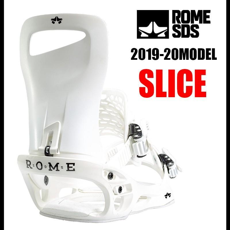 【楽ギフ_包装】 19-20 ROME SDS SLICE ローム スノーボード ビンディング バインディング 保証書付, タイワチョウ 8aea062f
