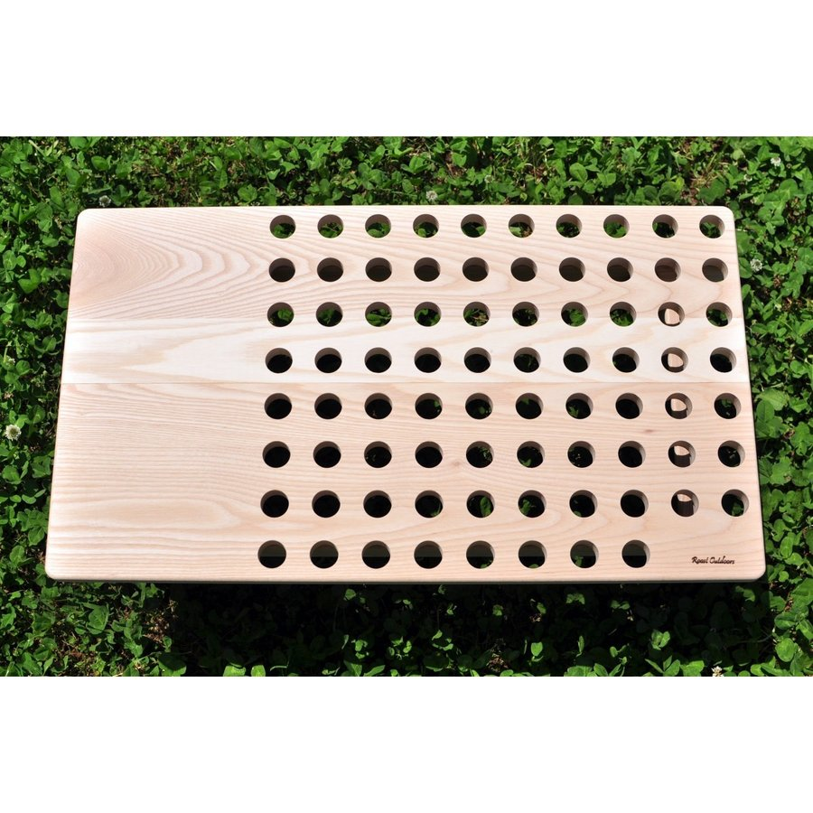 """""""Punched"""" Wood Table(ウッドテーブル・キャンプテーブル) roostoutdoors"""