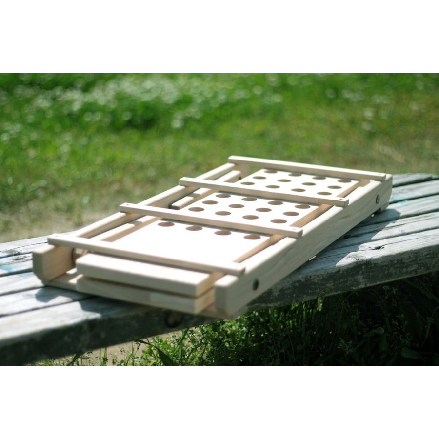 """""""Punched"""" Wood Table(ウッドテーブル・キャンプテーブル) roostoutdoors 04"""