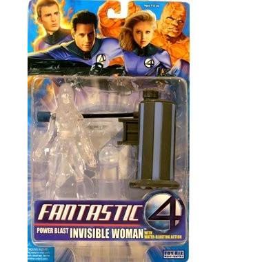 ウォーターブラスト インビジブルウーマン 6インチフィギュア アソート3 ファンタスティック・フォー