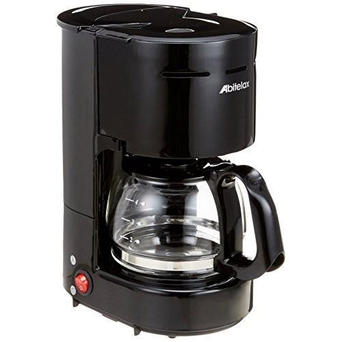 Abitelax(アビテラックス) コーヒーメーカー ブラック ACD-36-K 874338 rora2020