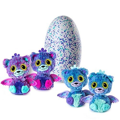 Hatchimals Surprise - Peacat - Hatching Egg with Surprise Twin Interactive