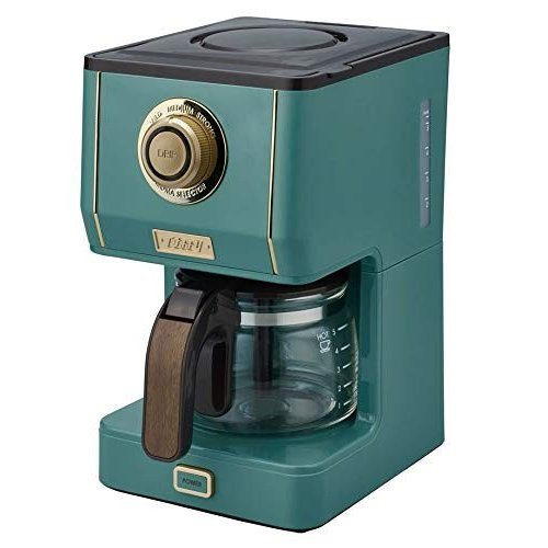 Toffy トフィー アロマドリップコーヒーメーカー スレートグリーン K-CM5-SG|rora2020