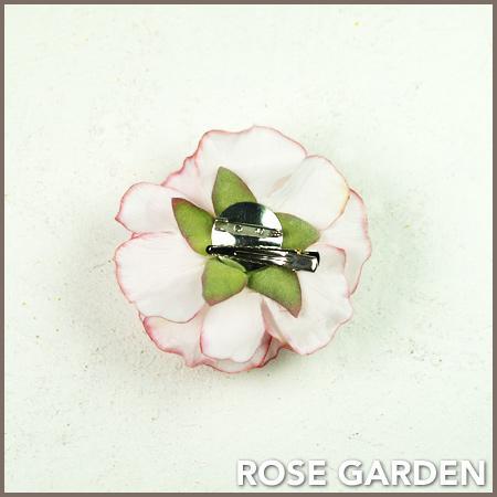 【結婚式2次会、成人式のヘアアクセ】コサージュ ラナンキュラス・ピンク|rosegarden|02