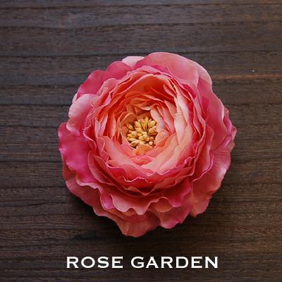【結婚式2次会、成人式のヘアアクセ】ラナンキュラス ピンク&ピンク コサージュ|rosegarden