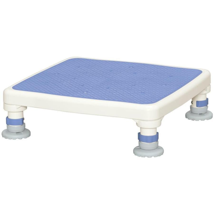 新規購入 ジャスト 浴槽踏み台 浴槽ステップ台 アルミ製浴槽台 介護用品 高齢者浴槽踏み台 ブルー 沈む あしぴたシリーズ-介護用品