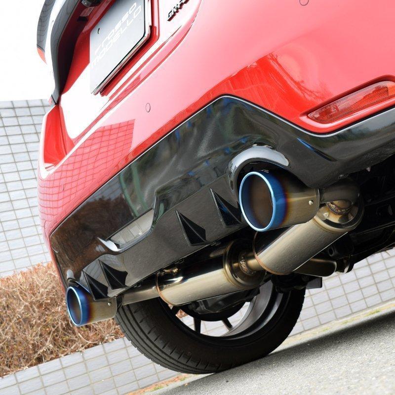 ストレート仕様追加!GRヤリス 競技用マフラー ARMS GT Titan-S GRYARIS RZ GXPA16 サーキット仕様 チタンテール|rossomodello|03