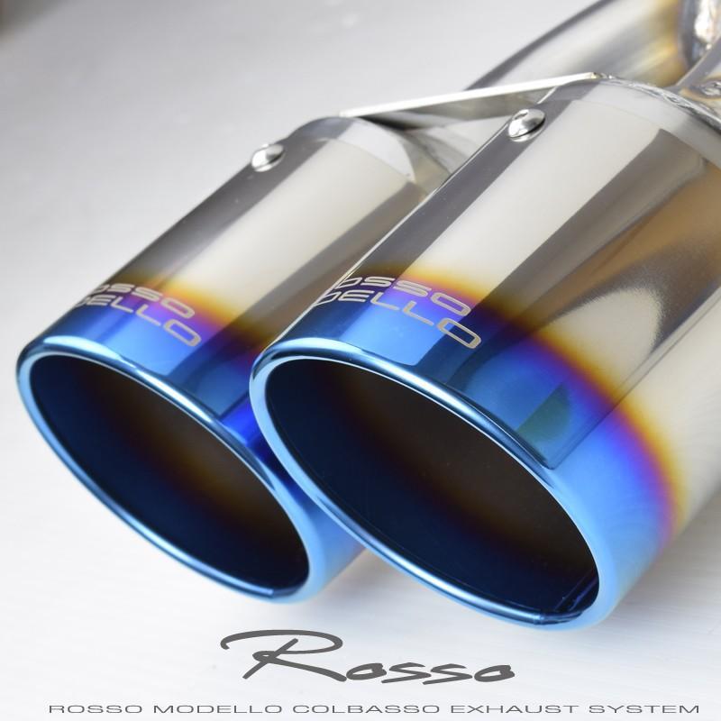 モデリスタエアロ対応 ライズ 4本出しマフラー 2WD 5BA-A200A COLBASSO  ロッソモデロ GT-FOUR RAIZE ブルー rossomodello 12