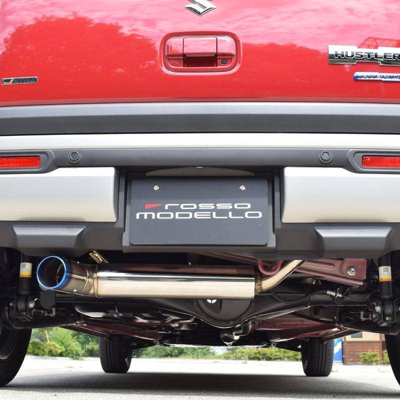 予約開始!ハスラー MR92S 4WD NA ロッソモデロ IKUSA-Ti スズキ HUSTLER 左出しデザイン クロカン |rossomodello|11