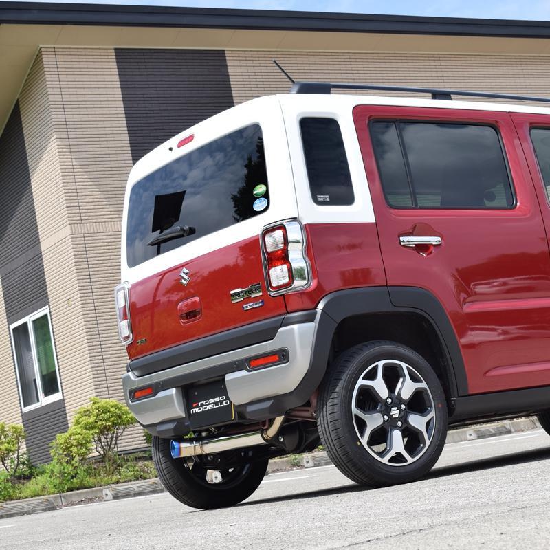 予約開始!ハスラー MR92S 4WD NA ロッソモデロ IKUSA-Ti スズキ HUSTLER 左出しデザイン クロカン |rossomodello|09