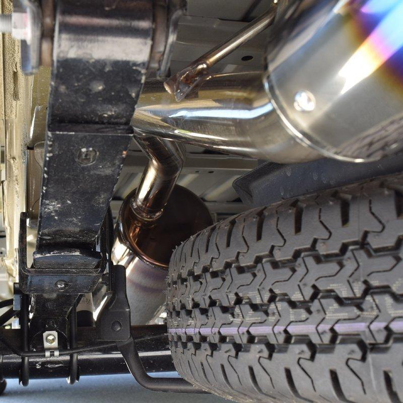 予約品!ダイハツ ハイゼット ジャンボ マフラー S510P 車検対応 ロッソモデロ COLBASSO Ti-C 軽トラ HIJET トラック|rossomodello|07