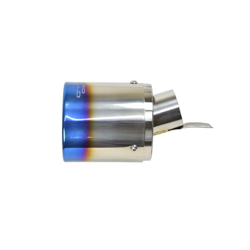日産 キックス P15 e-POWER マフラーカッター ロッソモデロ MARVELOUS T1  チタン ブルー KICKS|rossomodello|13