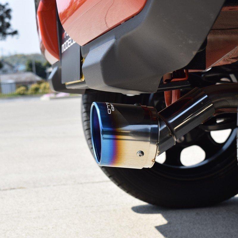 新型ハスラー マフラーカッター MR92S 2WD NA ロッソモデロ MARVELOUS T1 ブルー|rossomodello|03