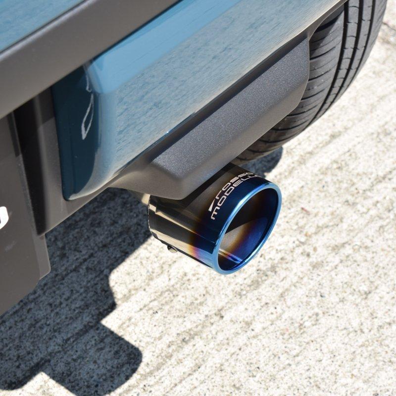 新型ハスラー 2WD ターボ マフラーカッター MR52S ロッソモデロ MARVELOUS T1 HUSTLER ブルー rossomodello 03