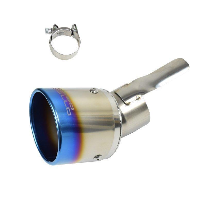 新型ハスラー 2WD ターボ マフラーカッター MR52S ロッソモデロ MARVELOUS T1 HUSTLER ブルー rossomodello 09