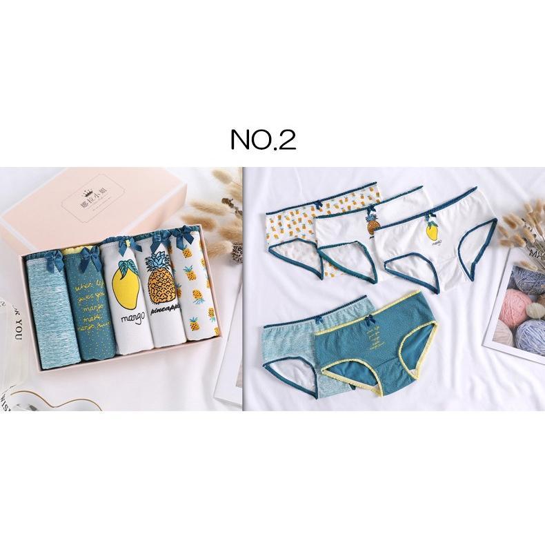 レディースショーツ コットン ショーツ 綿 インナー パンツ シームレス ノーマル 5枚セット 下着 新作 17タイプから選べる|roteeo-store|06