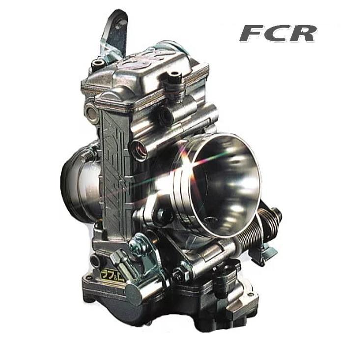 KEIHIN FCR4121 ケイヒン FLAT-CRキャブレター FCR41φ [SR400/500(CVキャブ車用)(ファンネル仕様)] ROUGH&ROAD|roughandroad-outlet