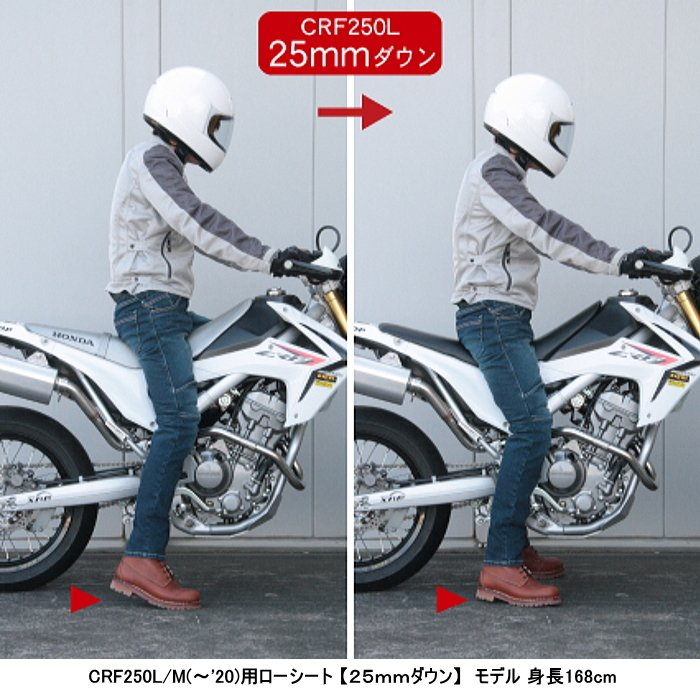 LUKE LK-1502BK ルーク ローシート [CRF250L/M(〜'20)] ROUGH&ROAD roughandroad-outlet 02