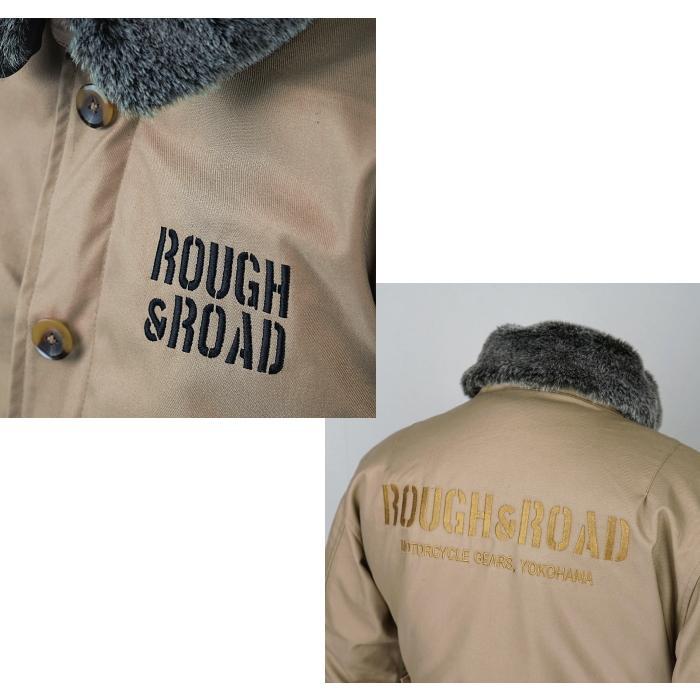 サイズ交換可能 ラフアンドロード RR7691 N-1RボアウインタージャケットFP 秋冬 バイクジャケット ROUGH&ROAD|roughandroad-outlet|08