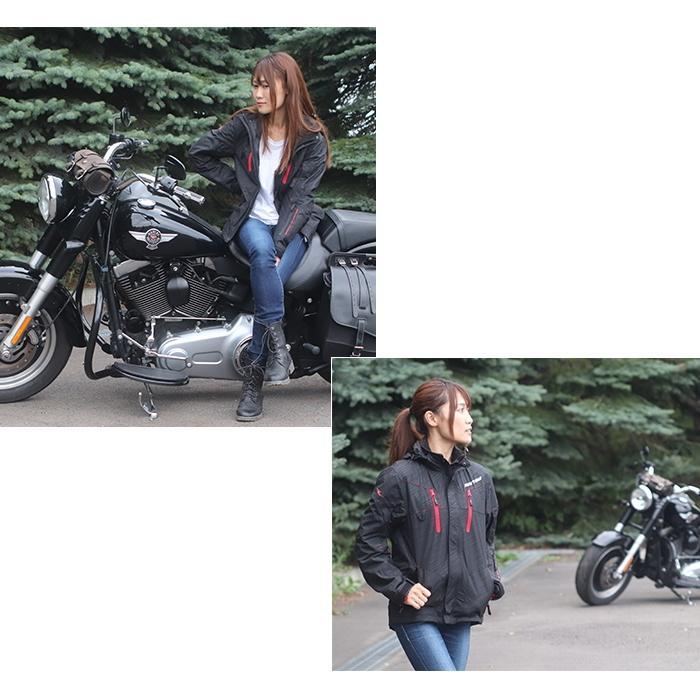 サイズ交換可 ラフアンドロード RR7698 WSプリマロフト(R)ウォームパーカー 秋冬バイクジャケット ROUGH&ROAD ラフ&ロード|roughandroad-outlet|11