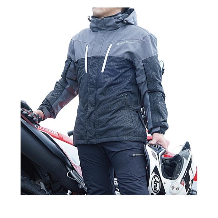 サイズ交換可 ラフアンドロード RR7698 WSプリマロフト(R)ウォームパーカー 秋冬バイクジャケット ROUGH&ROAD ラフ&ロード|roughandroad-outlet|10