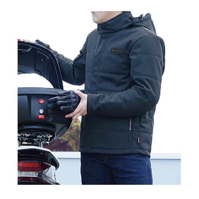 サイズ交換可 ラフアンドロード RR7699 プリマロフト(R)ウインターアーバンフーディー 秋冬バイクジャケット ROUGH&ROAD roughandroad-outlet 08