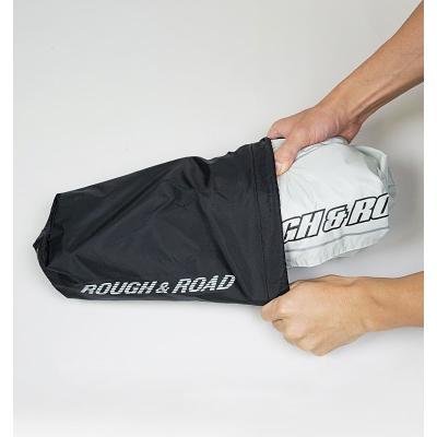 サイズ交換可能  ラフアンドロード RR7808 デュアルテックスレインスーツ ROUGH&ROAD|roughandroad-outlet|17
