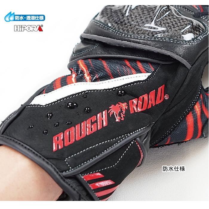サイズ交換可能 ラフアンドロード RR8648 プロテクションツアラーウインターグローブ 秋冬 バイク ROUGH&ROAD roughandroad-outlet 07