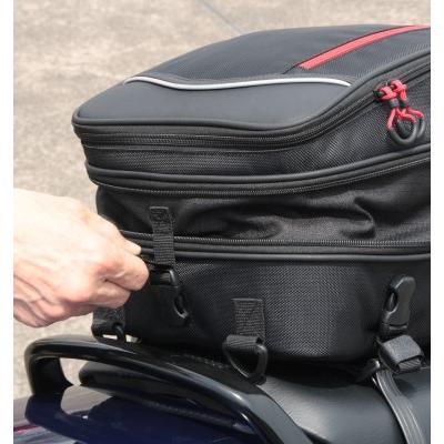 サイズ交換可能  ラフアンドロード RR9023 2WAYシートバッグ ROUGH&ROAD roughandroad-outlet 11