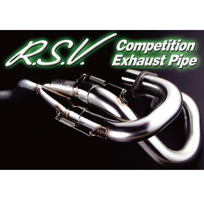 【R.S.V】 R.S.V. 4st コンペティション EXパイプ [TRICKER(トリッカー),SEROW250(セロー250),XT250X]|roughandroad-outlet