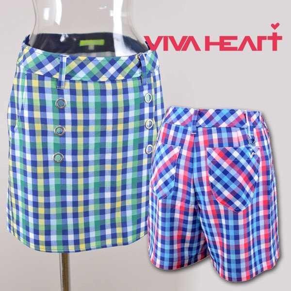 ビバハート レディース/キュロットパンツ(S)(M) ゴルフウェア VIVA HEART 012-75344