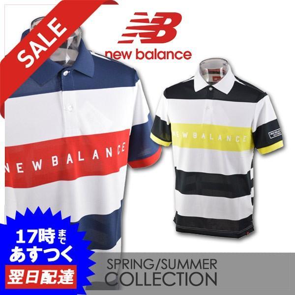 ニューバランス メンズ 半袖ポロシャツ (M)(L) ゴルフウェア new balance 012-9160009