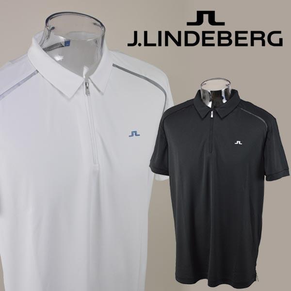 J.リンドバーグ J.LINDEBERG/半袖ポロシャツ(L)(LL) ゴルフウェア 071-23553