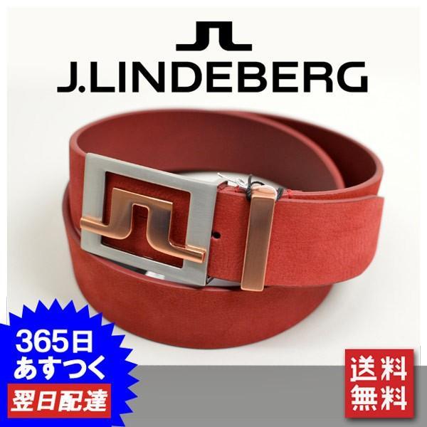 J.リンドバーグ メンズ ベルト ゴルフウェア J.LINDEBERG 073-64907-67