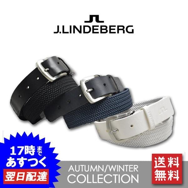 J.リンドバーグ メンズ ベルト ゴルフウェア J.LINDEBERG 073-68908