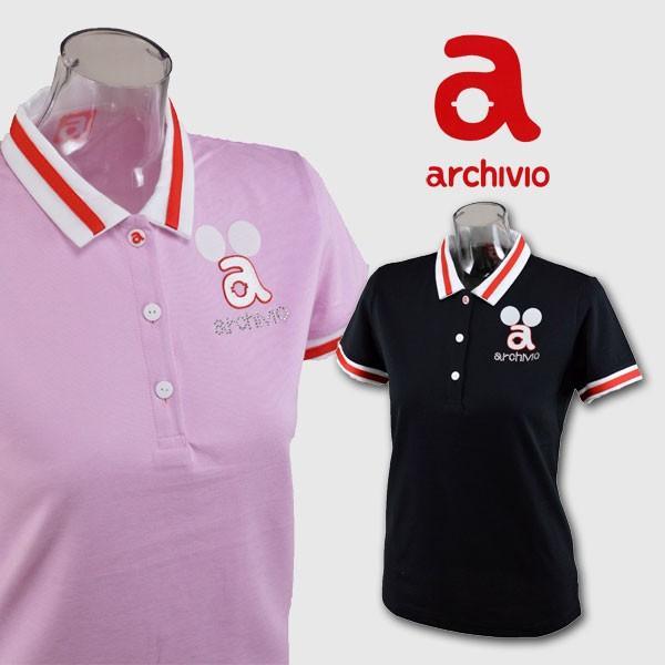 アルチビオ レディース/半袖ポロシャツ(S)(M)(L) ゴルフウェア archivio 559326