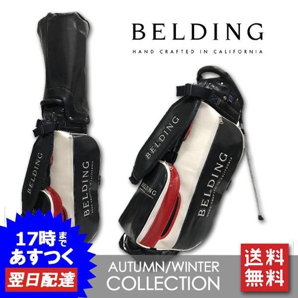 BELDING メンズ キャディバッグ スタンド式 レア ベルディング hbcb-850112