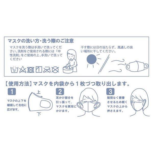 マスク ソフトフィットクールマスク 5枚入り ブラック ベージュ 洗えるマスク 冷感素材 快適 防水 フィット 送料無料|rovel2818|05