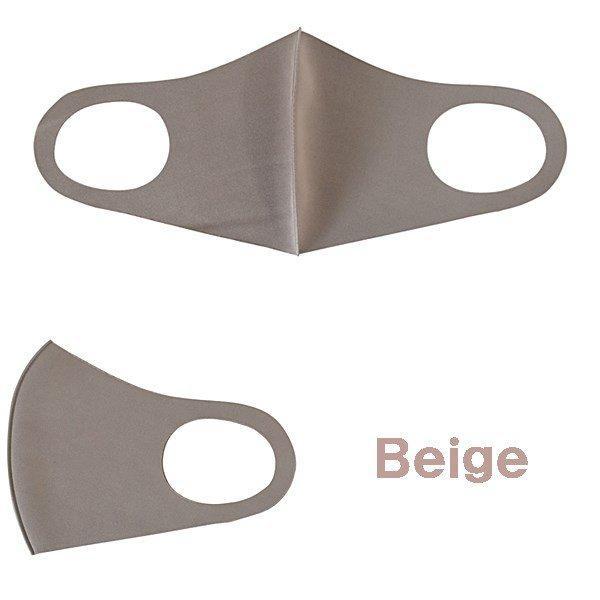 マスク ソフトフィットクールマスク 5枚入り ブラック ベージュ 洗えるマスク 冷感素材 快適 防水 フィット 送料無料|rovel2818|07