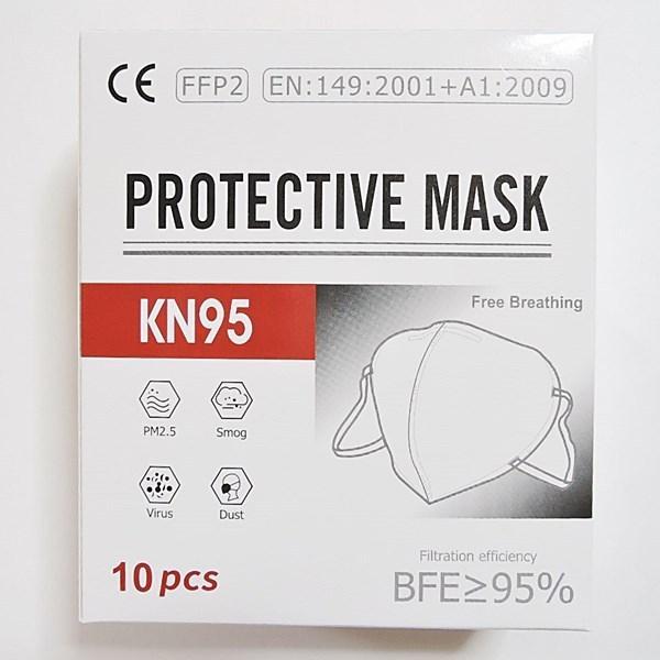 マスク KN95 10枚入り 立体 PM2.5 スモッグ ウイルス ダスト 対策 男女兼用 送料無料 rovel 03