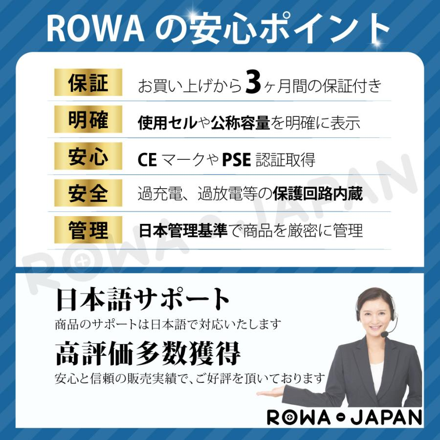 大容量1.28倍 iPhone 6s バッテリー 交換 PDF説明書 工具付き ロワ社名PSEマーク付 rowa 10