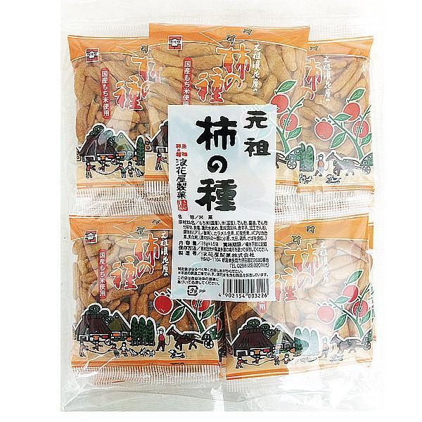 浪花屋製菓 元祖 柿の種(袋) 16g×15袋|royal-net