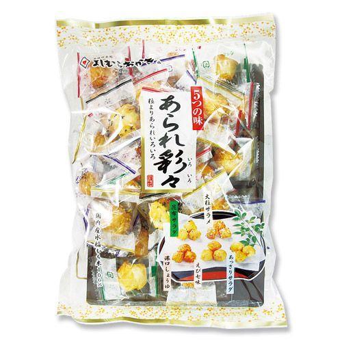 吉村甘露堂 あられ彩々 110g(約34コ)×2袋|royal-net