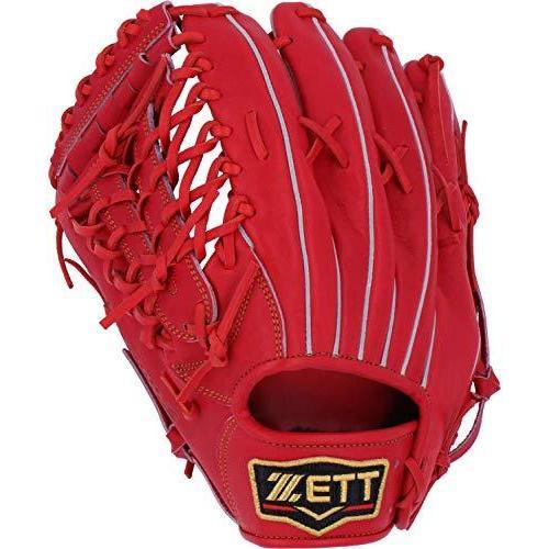 ZETT(ゼット) 硬式野球 プロステイタス グラブ (グローブ) 外野手用 ディープオレンジ(5800) 左投げ用 BPROG670