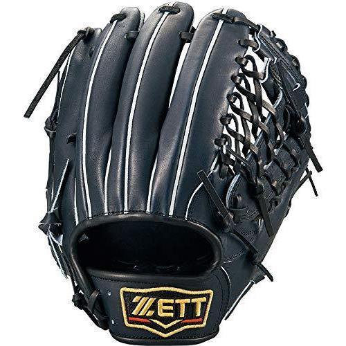 ゼット(ZETT) 硬式野球 プロステイタス グラブ (グローブ) セカンド·ショート用 ナイトブラック(1900N) 右投げ用 日本製 B