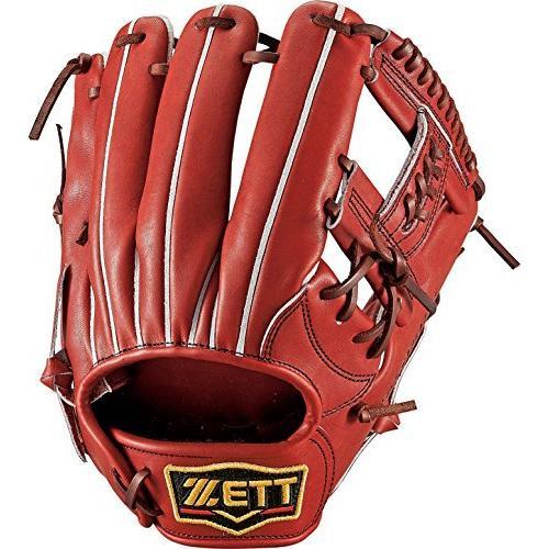 ZETT(ゼット) 野球 硬式 グラブ プロステイタス 二塁手·遊撃手用 (右投げ用) BPROG56 ボルドーブラウン(4000) LH