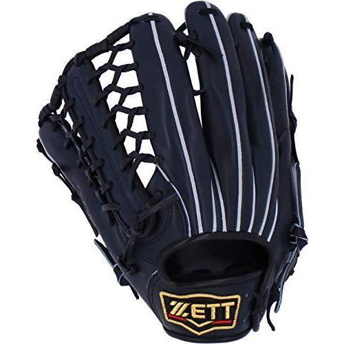 ゼット(ZETT) 硬式野球 プロステイタス グラブ (グローブ) 外野手用 ナイトブラック(1900N) 左投げ用 日本製 BPROG77